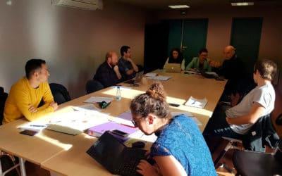 Reunión Socios Firma Acuerdo de Partenariado en Hendaya