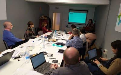 Reunión del Equipo Proyecto en la sede de ARETÉ ACTIVA, en Pamplona