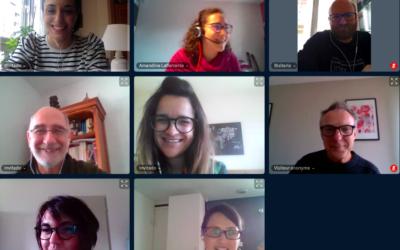 Reunión del Equipo del Proyecto por medios telemáticos.