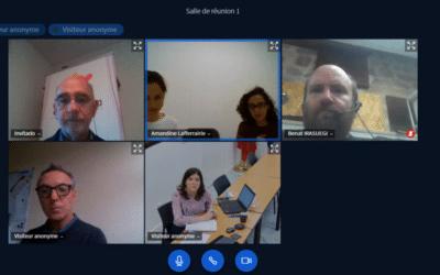 Reunión con Eurorregión para analizar sinergias entre los proyectos Empleo,  FORMANAEM y TRANSLANEKIN